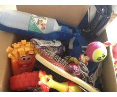 BARGAIN PET TOYS AND 1 BOX STOP - PUPPY BOX ON OFFER