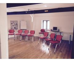 Social Care training and training rooms available