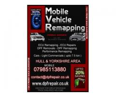 Performance engine tuning and remapping .Mobile Vehicle Remapping (HULL)