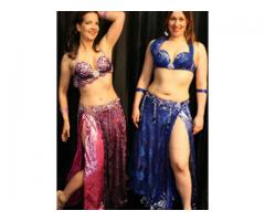 Beautiful belly dance costumes from Farida Dance