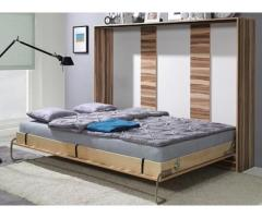 Double Horizontal Space Saving Wall Bed (Murphy Bed)