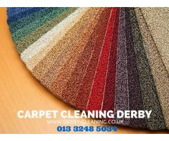 Professional carpet cleaners Derby