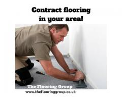Contract flooring services London