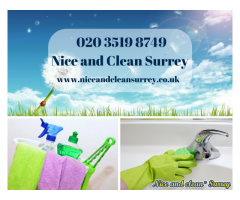 End of tenancy cleaners Surrey